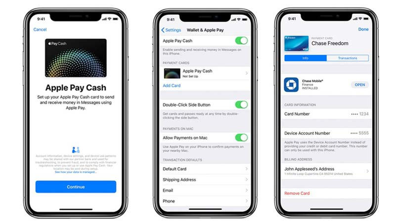 set up and use apple pay on iphone xr