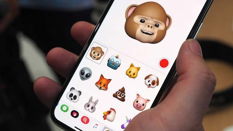 use animoji and emoji on iphone xr